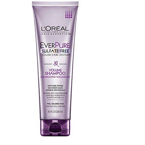 L'Oreal Hair Expertise EverPure Volume Shampoo, Rosemary Juniper, 8.5 Ounce