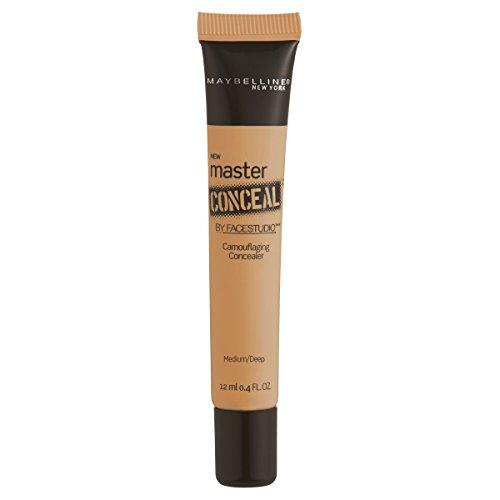 Maybelline New York Facestudio Master Conceal Makeup, Medium/Deep, 0.4 fl. oz.
