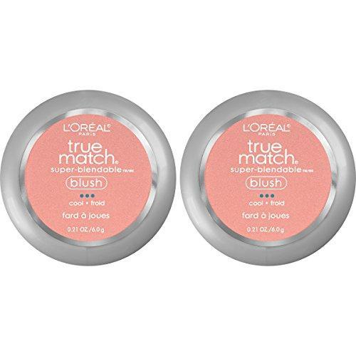 L'Oreal Paris Cosmetics True Match Super-Blendable Blush, Rosy Outlook, 2 Count