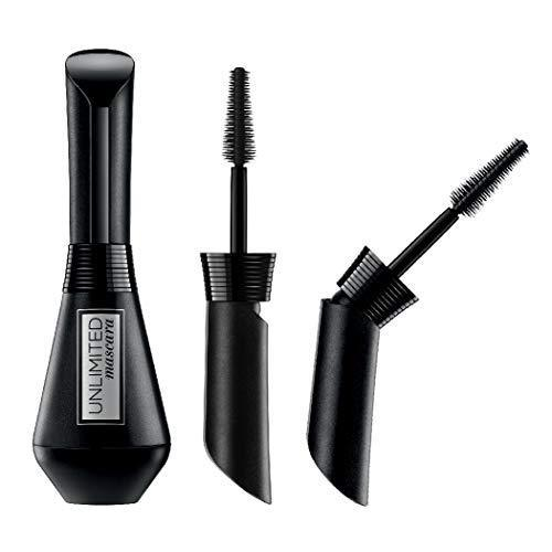 L'Oreal Paris Makeup Unlimited Lash Lifting and Lengthening Washable Mascara, Blackest Black