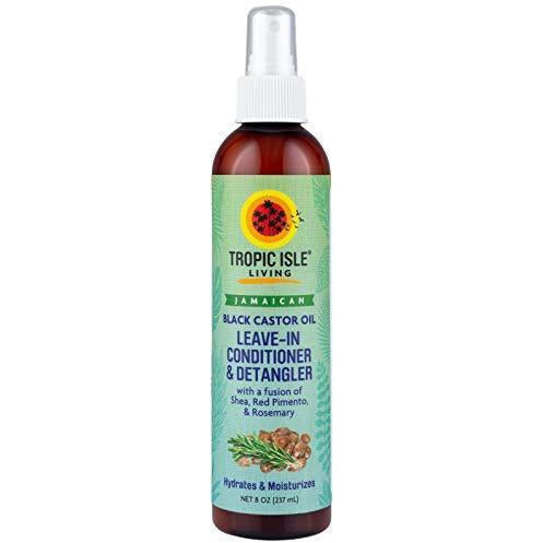 Tropic Isle Living- Jamaican Black Castor Oil Leave-In Conditioner & Detangler with Rosemary & Shea-8oz