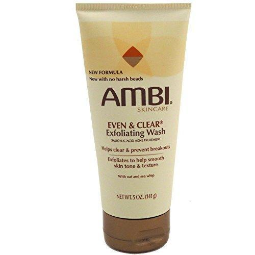 Ambi Even & Clear Exfoliating Wash 5 oz(Pack of 3)
