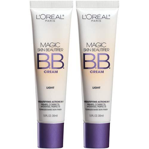 L'Oreal Paris Magic Skin Beautifier BB Cream, Light, 1 Ounce (2 Count)