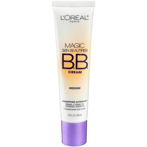 L'Oreal Paris Magic Skin Beautifier BB Cream, Medium [814] 1 oz (Pack of 2)