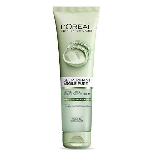 L'Oreal Paris Skin Care Pure Clay Cleanser, Purify & Mattify, 4.4 Fluid Oun