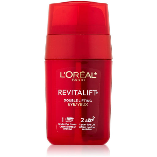 2 Pack - L'Oreal Paris RevitaLift Double Lifting Eye Cream/Gel 0.50 oz
