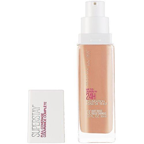 Maybelline Super Stay Full Coverage Liquid Foundation Makeup, Buff Beige, 1 Fl Oz
