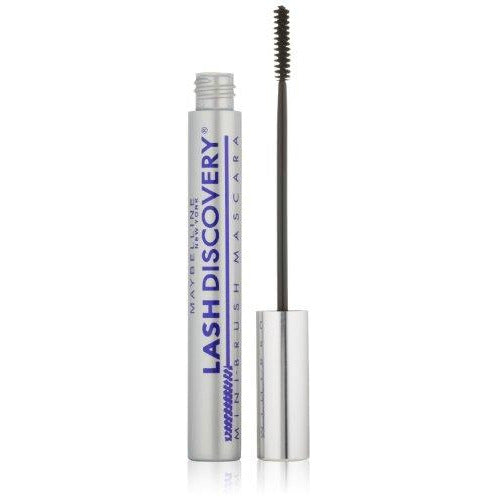 Maybelline New York Lash Discovery Washable Mascara, Very Black [351] 0.16 oz (Pack of 2)