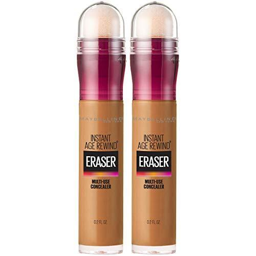 Maybelline Instant Age Rewind Eraser Dark Circles Treatment Multi-Use Concealer, Tan, 0.2 Fl Oz (Pack of 2)