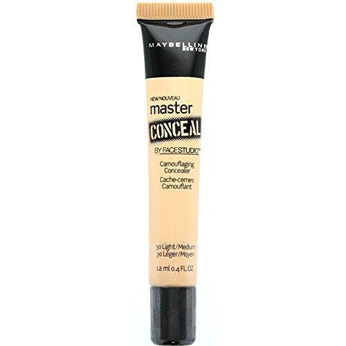Maybelline New York Master Conceal by Facestudio, Light/Medium [30] 0.40 oz (Pack of 2)