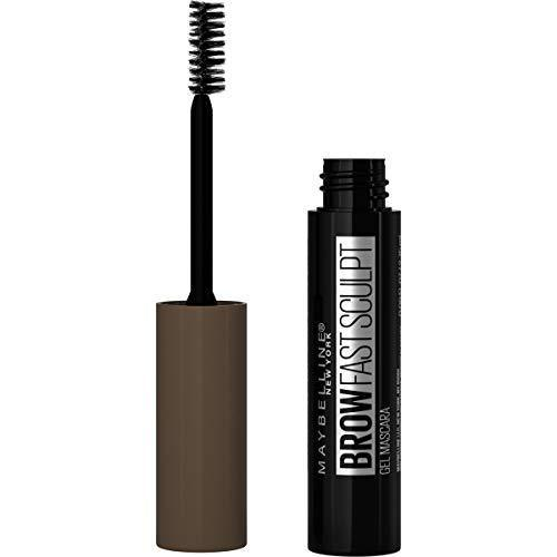 Maybelline Brow Fast Sculpt, Shapes Eyebrows, Eyebrow Mascara Makeup, Warm Brown, 0.09 Fl. Oz