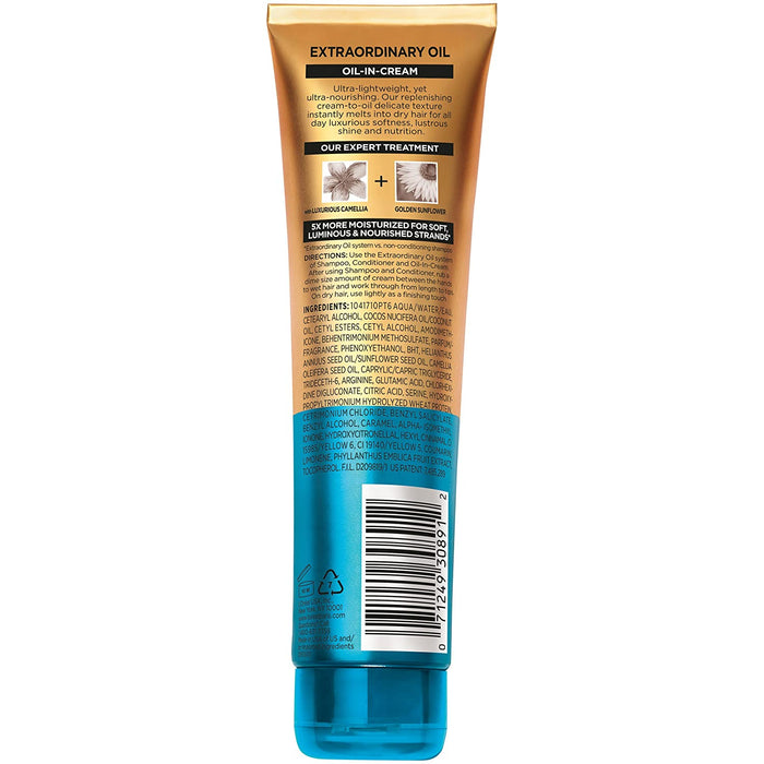 L'Oreal Paris Elvive Extraordinary Oil Transforming Oil-in-Cream, with Coconut Oil, 5.1 fl. oz. (Packaging May Vary)