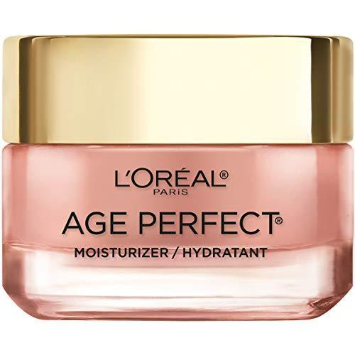 L'Oreal Paris Skin Care I Age Perfect Rosy Tone Moisturizer for Face for Visibly Younger Looking Skin I Anti-Aging Day Cream I 1.7 oz. - Packaging May Vary