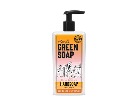 Handzeep Sinaasappel & Jasmijn 500ml - Marcel's Green Soap