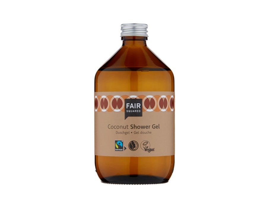 Shower Gel - Coconut - Zero Waste - 500ml - Coconut - Fair Squared