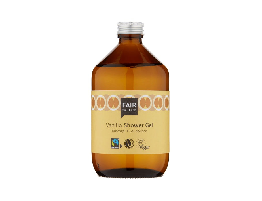 Shower Gel - Vanilla - Zero Waste - 500ml - Coconut - Fair Squared