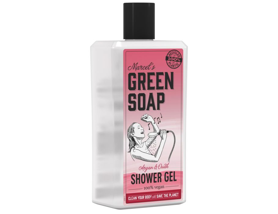 Shower gel - Argan & Oudh - 500ml - Marcel's Green Soap