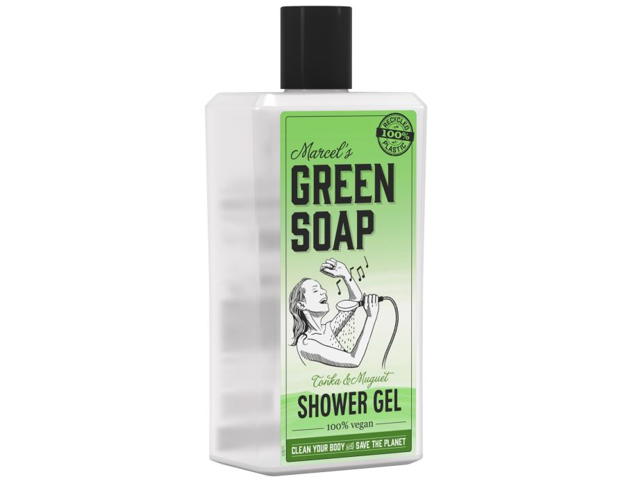 Shower gel - Tonka & Muguet - 500ml - Marcel's Green Soap