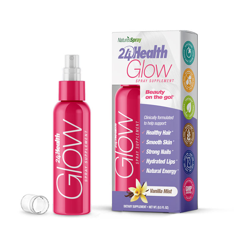 24Hr Health Energy - GLOW Look Your Best - Oral Spray Vitamins