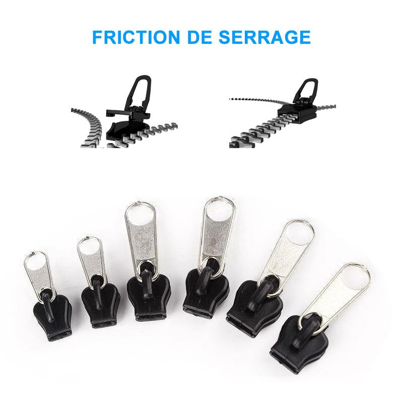 Fix Zip Puller, 6 PCS