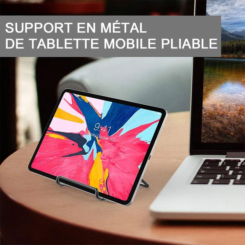 Mini Support en Métal de Tablette Portable Pliable