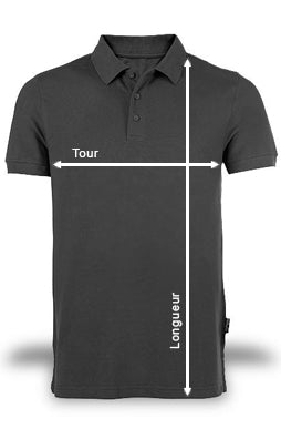 guide des tailles polo pour homme fractall