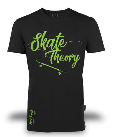 "T-shirt Organic ""Skate Theory"" ♂ - Fract-All store"