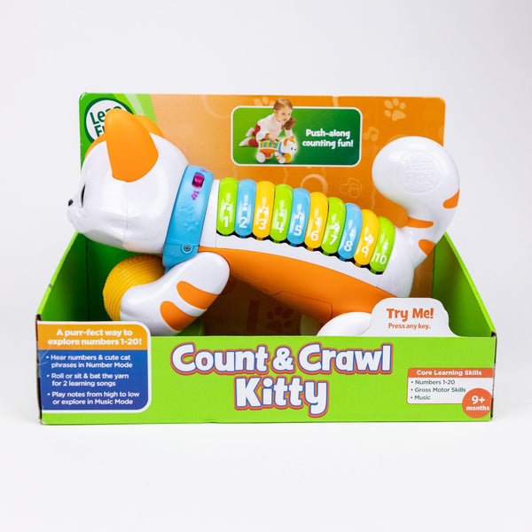 Count & Crawl Kitty