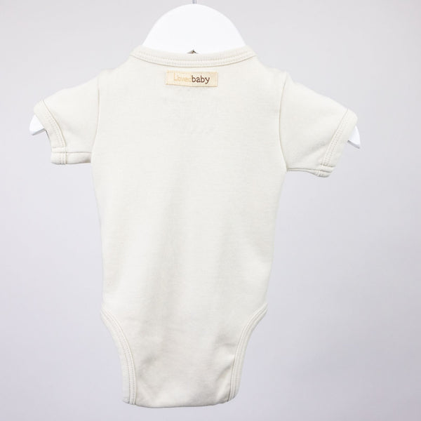 Cross Body Onesie (0-3M)