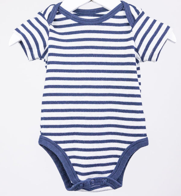 Striped Onesie (0-3M)
