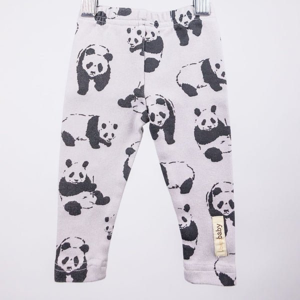 Panda Bear Leggings (0-3M)