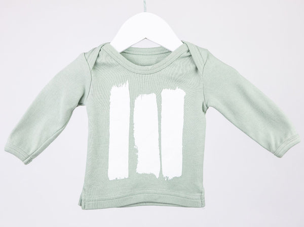 Paint Strokes Top (0-3M)