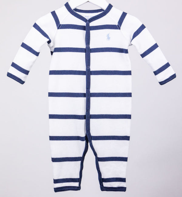 Striped Romper (6M)