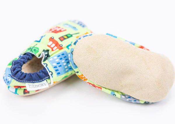 Fabric/Suede Booties (0-6M)