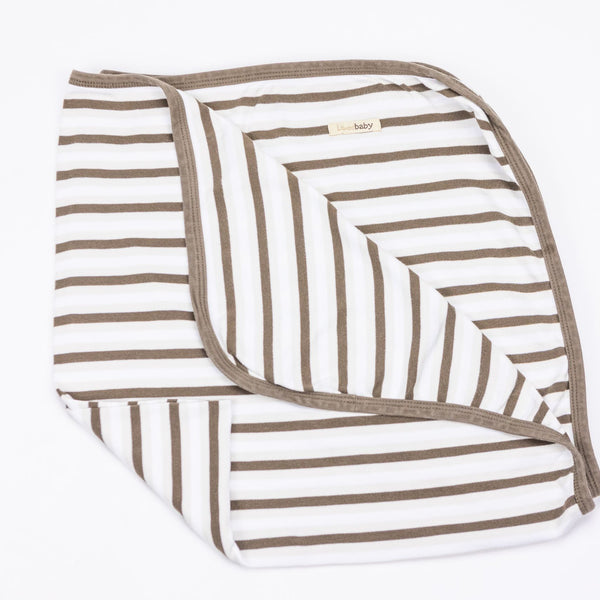 Striped Swaddle Blanket (O/S)