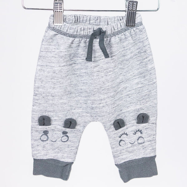 Happy Face Sweatpants (0-3M)