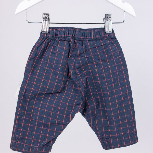 Pleated Pants (0-3M)