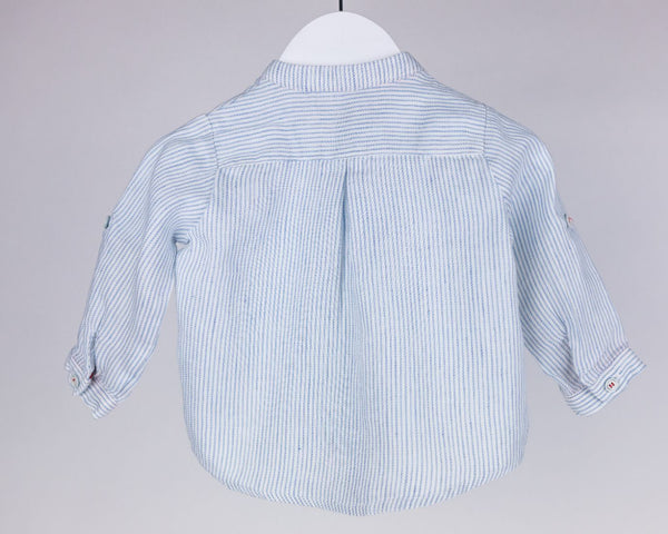 Pinstripe Pull Over Blouse (6M)