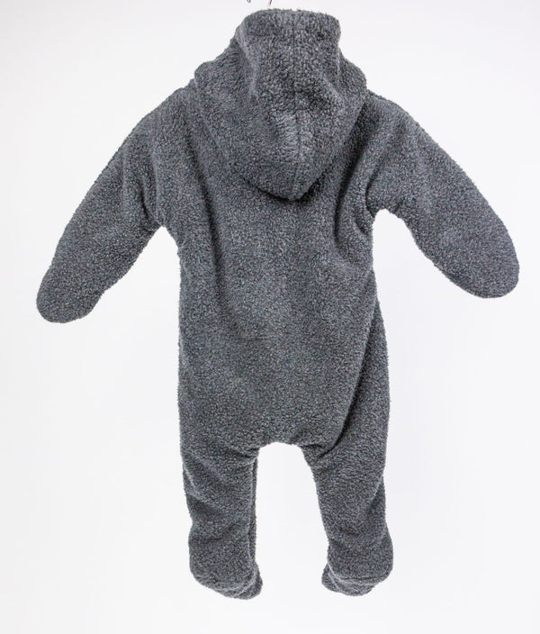 Hooded Fleece Jumpsuit (6M)