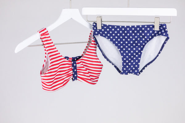 Stars & Stripes 2 pc. Swimsuit (7-8yrs)
