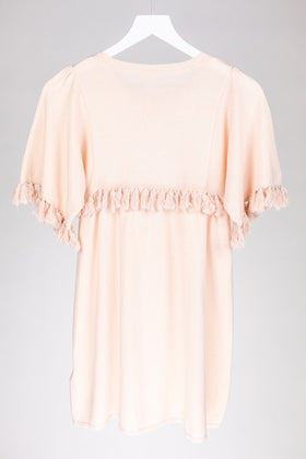 Chloe Knitted Tassel Dress (10Y)