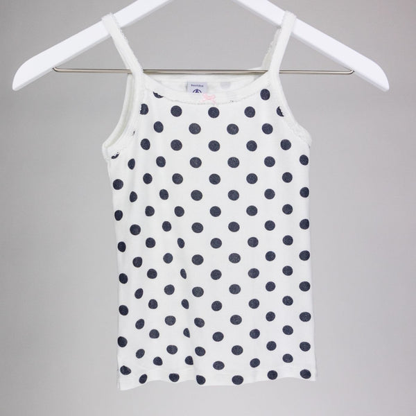 Polka dot Undershirt (8 yrs)