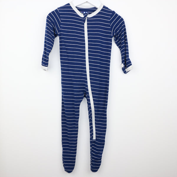 Striped Footie (6-9M)