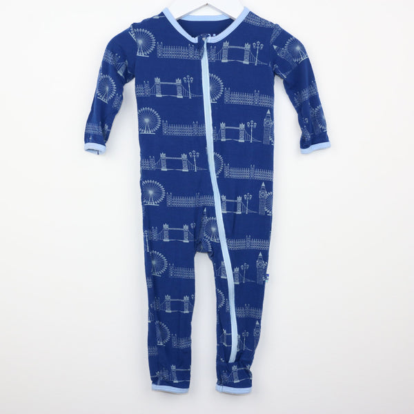 London Ankle Romper (9-12M)