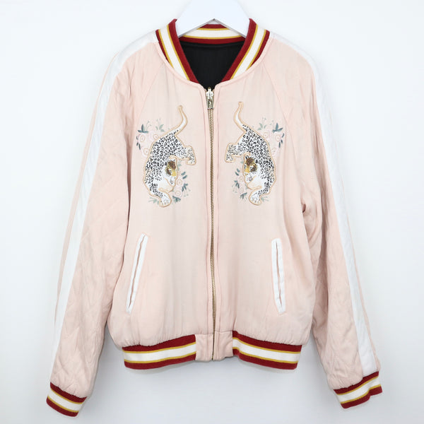 Satin Embroidered Bomber Jacket (10)