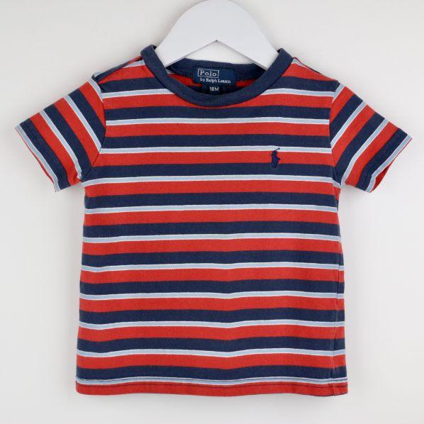 Striped Cotton Jersey Tee (18M)