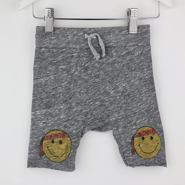 Smiley Face Capri Shorts (12-18 M)