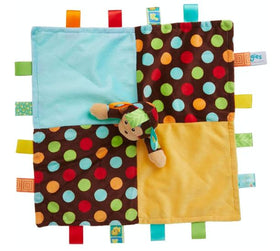 Taggies Dazzle Dots Monkey Security Blanket