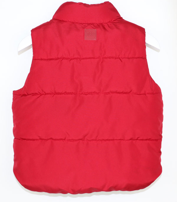 Red Puffer Vest (18-24M)