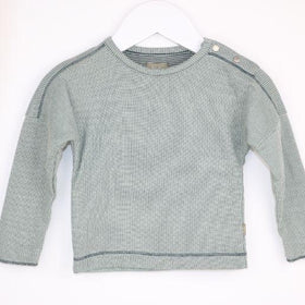 Micro-Checkered Long Sleeve (6M)